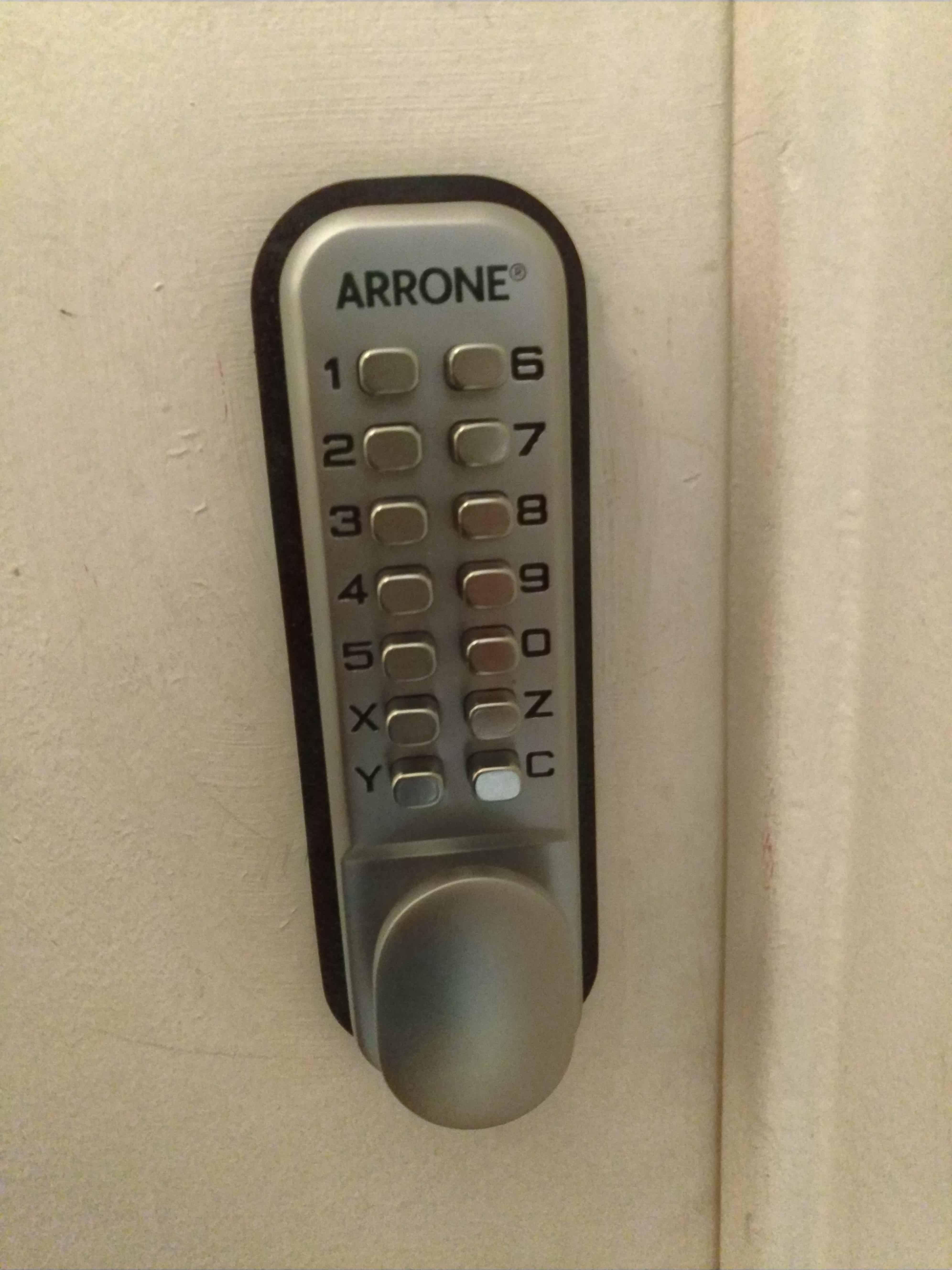 New door lock